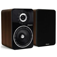 Elipson Prestige Facet 6B Bookshelf Speakers - Walnut (New!)