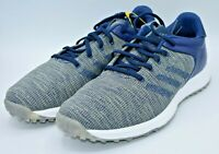 Adidas S2G Mens Spikeless Golf Shoes Waterproof Navy Grey Mens Size 9 EF0691 NEW