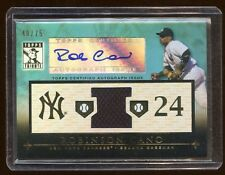 ROBINSON CANO 2010 TRIBUTE AUTO #D /75 ALL STAR GAME JERSEY  YANKEES SUPRSTAR
