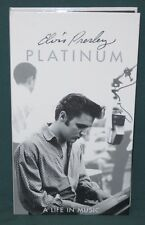 Elvis Presley PLATINUM: A LIFE IN MUSIC Box Set CD 1997