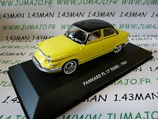 Voiture 1/43 test ATLAS : PANHARD PL17 Tigre 1961 bicolore