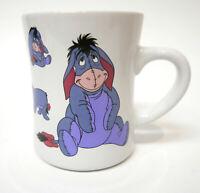 Disney Store Winnie the Pooh Eeyore Lavender Large Coffee Mug Cup Purple