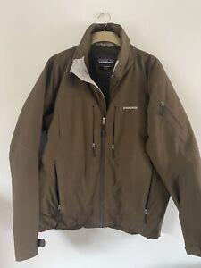 Patagonia Mens Brown Primaloft Jacket Coat Large