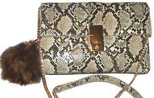 MADISON WEST Snake Handbag purse shoulder bag NEW