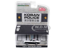 1971 DATSUN 240Z POLICE KOBAN, JAPAN 4,600 PCS 1/64 DIECAST BY GREENLIGHT 51156