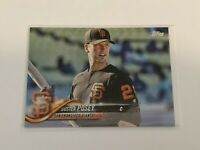 2018 Topps Baseball Variation Card - Buster Posey - San Francisco Giants