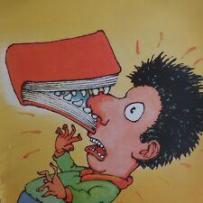 Affiche 1995 l'école des loisirs illustration de Philippe CORENTIN Paris France