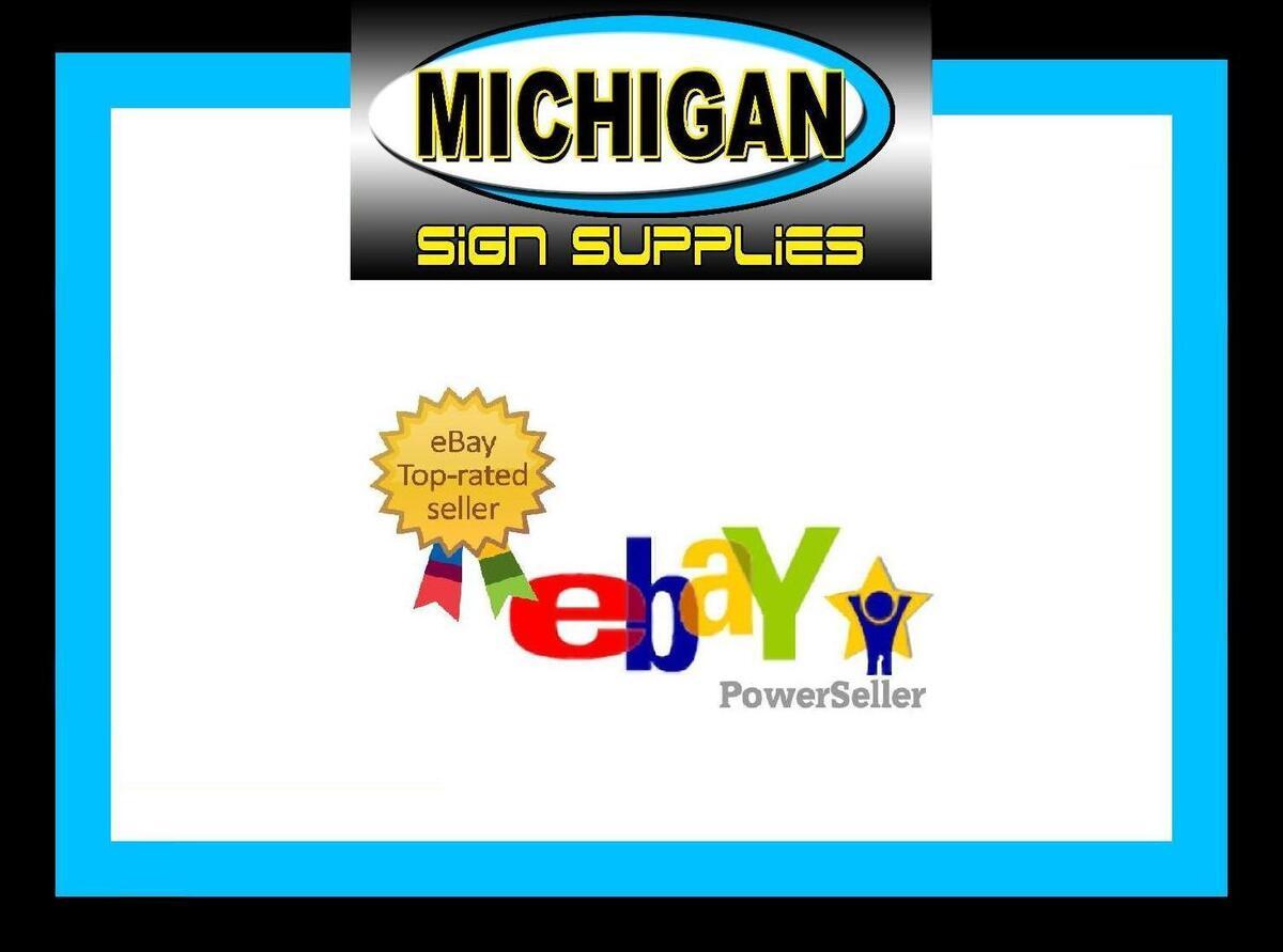 michigan sign supplies