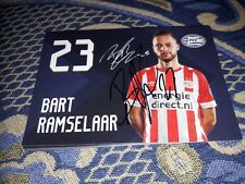 Signierte AK Bart Ramselaar PSV EINDHOVEN NEU MEGA RAR