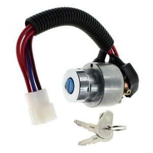 Ignition Switch Assembly fits Kubota L3400 Tractor Series C/W 2 Keys