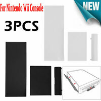 3pcs/set Memory Card Door Slot Cover Lids Replacement for Nintendo Wii Console