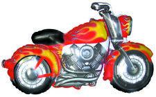 "45"" Super Jumbo MOTORCYCLE BALLOON ~ Harley cycle chopper birthday party ~ NEW"