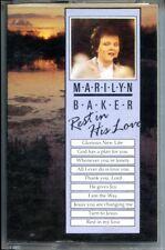 MARILYN BAKER - REST IN HIS LOVE (1986) - CASSETTE TAPE