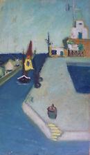 Jeanne LANGLOIS-BELLOT (1894-1986) HsP Signée Ecole de Paris Années 30' Fauvisme