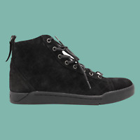 DIESEL Diamond Mens Suede High Top Fashion Sneaker Black Size 12
