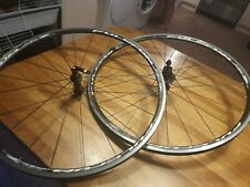 Fulcrum Racing 7 wheelset 700c In Good 25 inch edge to edge 2 wheels with hubs