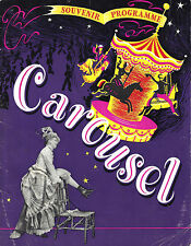 "Rodgers & Hammerstein ""CAROUSEL"" Stephen Douglass 1950 London Souvenir Program"