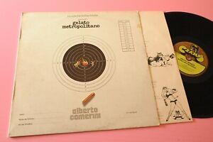 ALBERTO CAMERINI LP GELATO METROPOLITANO ORIG ITALY PROG 1977 EX+