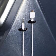 8Pcs Car Charger Line Headphone/USB Cable Car Clip Interior Accessories Set
