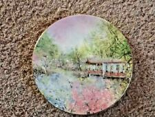 """Royal Doulton 1976 """"Garden of Tranquility"""" Collector Plate in box #8346 10.25"""""""