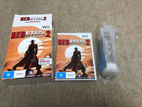 RED STEEL 2 - Wii Nintendo Game Big Box Complete With Wii Motion Plus VGC AUS