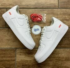 Nike Air Force 1 Low Supreme White CU9225-100 Men's Size 12 & 13