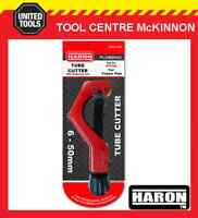 HARON STC124 6-50mm ZIP ACTION COPPER PIPE & TUBE CUTTER WITH DEBURRER