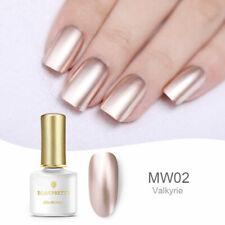 Gold Metallic Mirror UV Gel Nail Polish Soak Off  Decor BORN PRETTY 6ml
