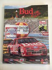BUD AT THE GLEN RACE PROGRAM  - AUGUST 6-9, 1992