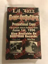 LIL JAZZ Game4uSuckaz 1996 CASSETTE TAPE Promo BRAND NEW Sealed RARE Cali Rap