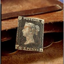 NEW American Coin Treasures Penny Black Stamp 560