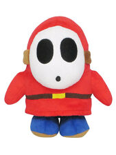 NEW Sanei Super Mario All Star Collection - AC25 - Shy Guy Stuffed Plush Doll
