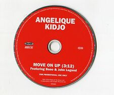 Angelique Kidjo - cd-PROMO - MOVE ON UP feat. Bono & John Legend © 2010