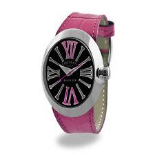 Locman Italy Damenuhr Donna schwarz/pink Ref. 041000