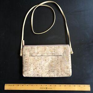 For her MATCHING PURSE FOR 1.00 Cork Shoulder Bag