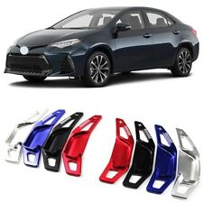 Alloy Steering Wheel DSG Paddle Extension Shifters Cover For Toyota Corolla 14+