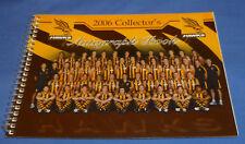 New Blank 2006 Hawthorn Hawks AFL Football Autograph Book 21cm x 15cm 44 Players