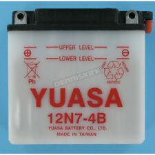 YUASA Conventional 12-VOLT BATTERY-12N7-4B CB700SC CB 700 SC 1984-1986  NOS