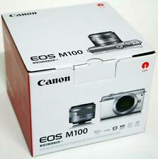 CANON EOS M100 SCHWARZ + 15-45MM IS KIT 24.2 MEGAPIXEL BLACK KAMERA