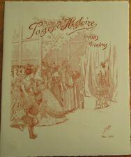 Comte Jacques Omfroy de Breville/Job/Artist-Signed 1920 French Theatre Program