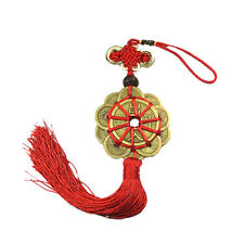 Feng Shui Mystic Knot 10 Chinese Lucky Coins Cures Home Career Health Wealth WK