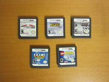 Lot of 5 Nintendo DS Game Cartridges - No Cases, No Manuals *Mario Kart in lot