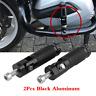 2Pcs CNC Aluminum Folding Foot Pegs Footrest Rear Pedals Rest For Motorcycle ATV