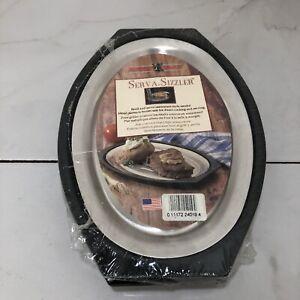 Nordic Ware Sizzler 2 Pack Fajita Steak Plates Hot Plates