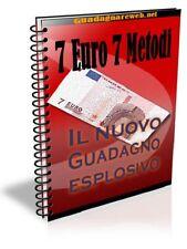 7 Euro 7 Metodi Ebook + diritti di rivendita