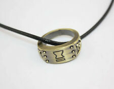 Naruto Ring Necklace Charm Necklace Pendant Cosplay Gift