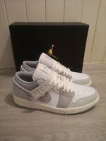 Nike Air Jordan 1 Low Premium Elephant Print/Berlin Grey Men's UK8.5/US9.5 🔥