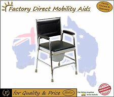 Discreet Bedside Commode Chair Day Chair New Free Delivery Cover Bucket Included