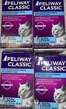 4 New FELIWAY Classic Diffuser Refill 48 ml Constant Harmony & Calming Cats
