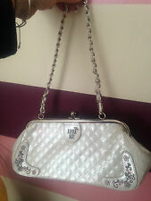 Anna Sui Quilted Chain Strap Handbag